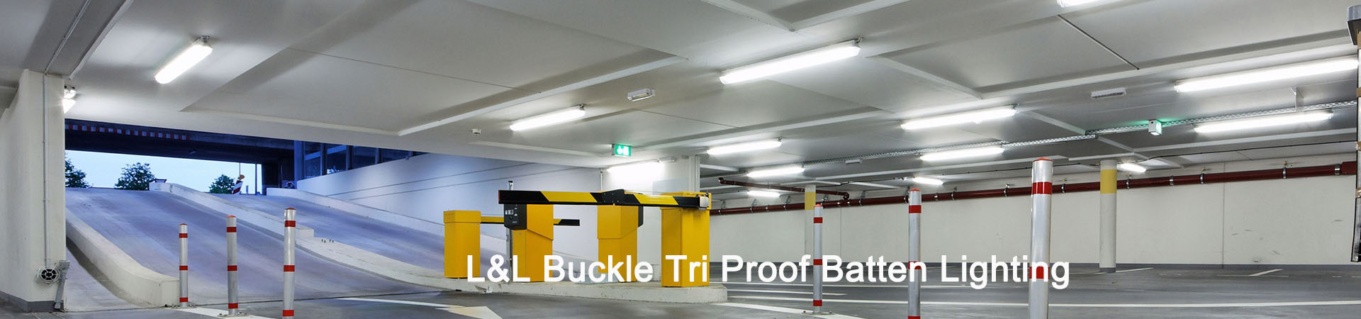 L&L Buckle LED Tri Proof Batten Lighting
