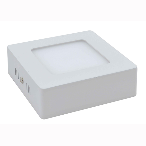 Square Flush Mounted LED Flat Light 12W