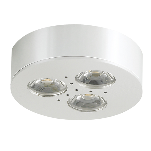 Led Cabinet Lighting Screwfix: Surface LED Puck/Cabinet/Spot/Furniture Light CREE LED
