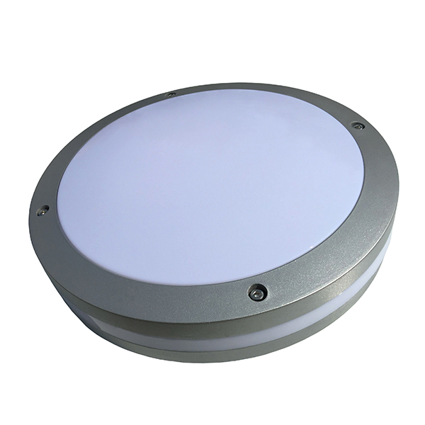 Emergency Battery Powered Security LED Bulkhead