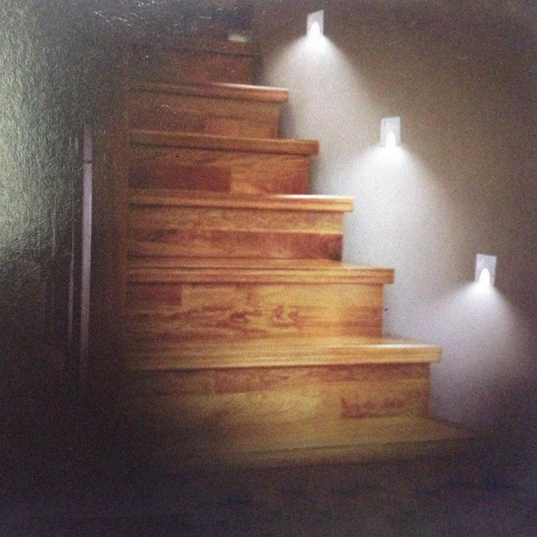 Wall Mounted Lights For Stairs : LED Step/Stair/Wall Lights/Luminaires