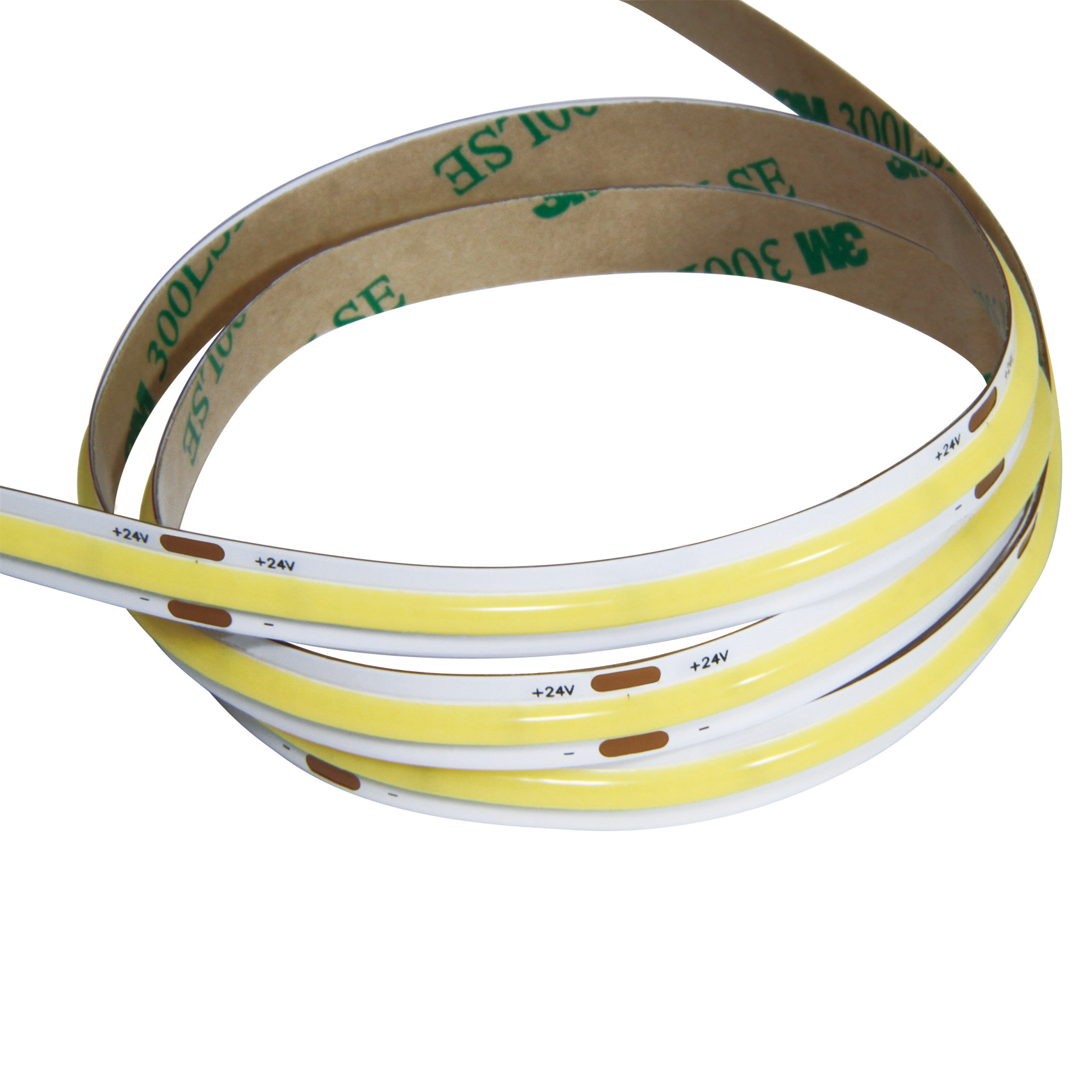 12VDC LED COB LED Strip Light Waterproof IP67 without Dots