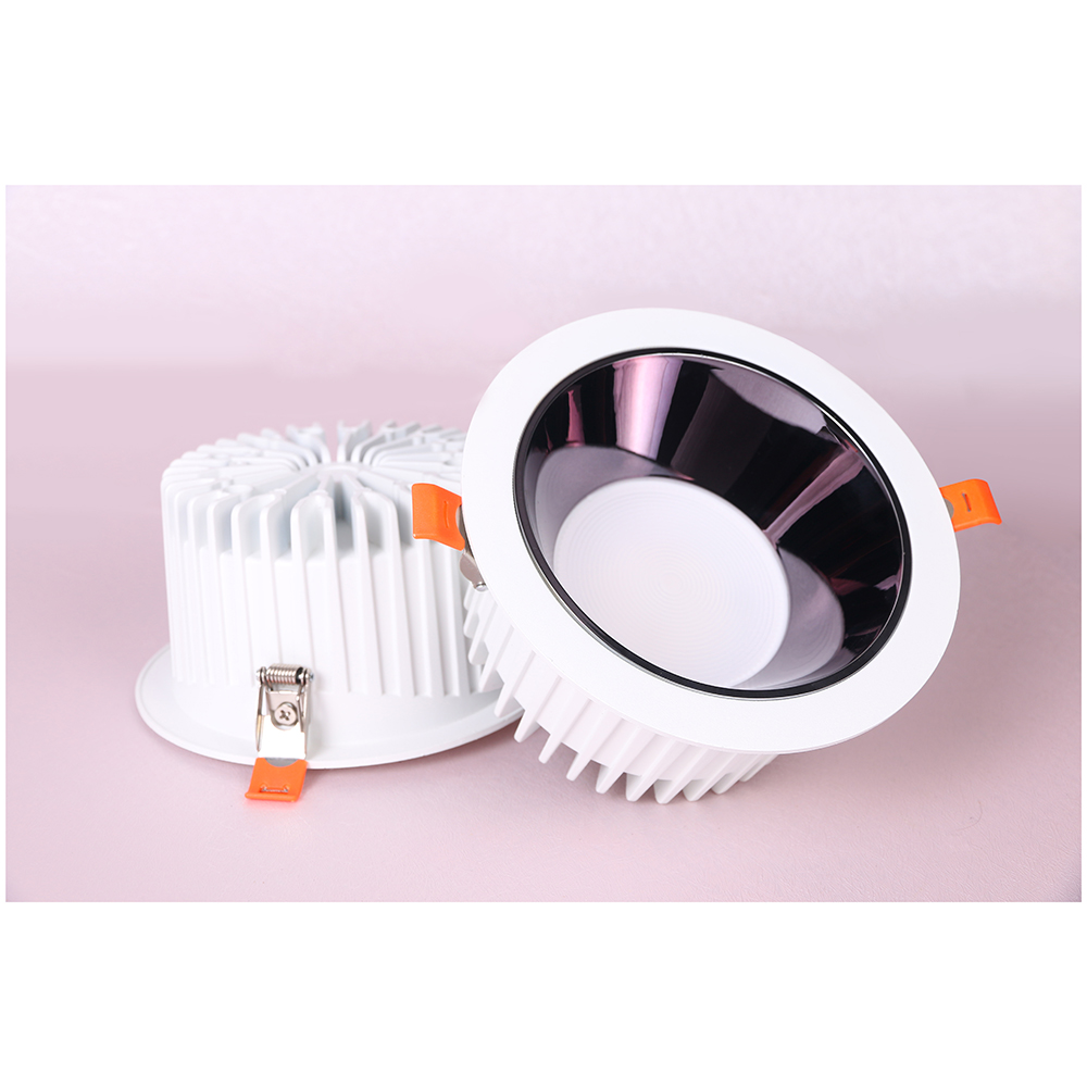 6 Inch COB Round Dimmable Recessed Indoor 32W LED Downlight