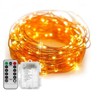 3AA Battery Christmas Fairy Deck LED Copper Wire String Light