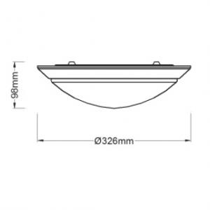 18W Standby Ceiling Light