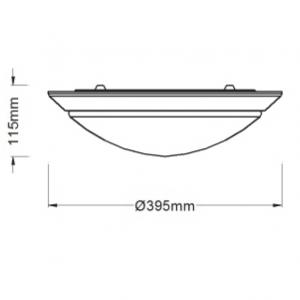 24W Standby Ceiling Light