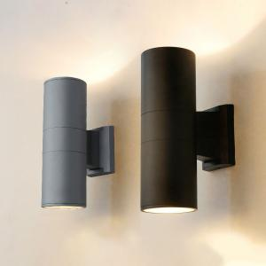 IP65 12W 2x6W Up&Down Outdoor Decorative LED Wall Light Ftting