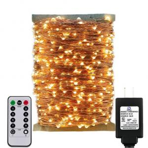 Plug in Adapter Christmas Fairy Copper Wire LED String Light