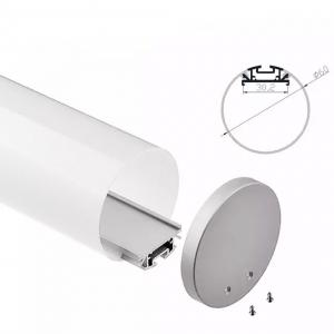 1.2 meter 4 feet Round LED Linear Light for Office Lighting