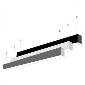 1.2 meter 4 feet 36W Square LED Linear Light for Office Lighting